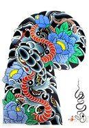 Garyou Tensei. 108 Japanese tatto..