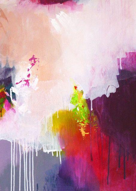 Original abstrakte Malerei abstrakte Kunst moderne von ARTbyKirsten
