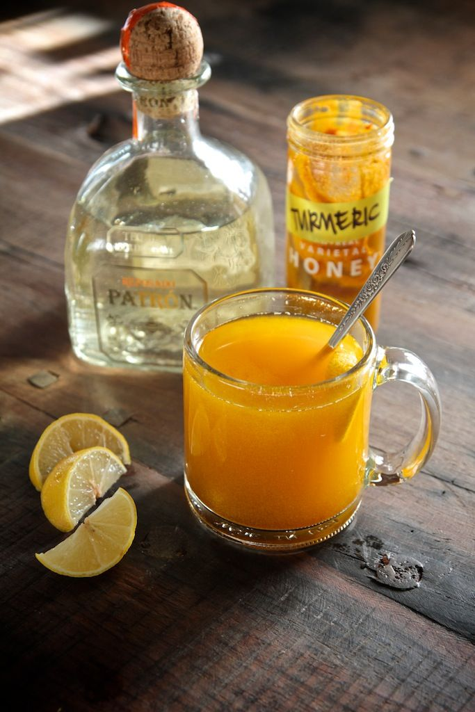 Turmeric Hot Toddy. Made 2015. Very good - perfect for sore throats and stuffy noses!