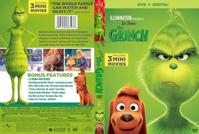 The Grinch Dvd Cover The Grinch Dvd Dvd Covers Dvd