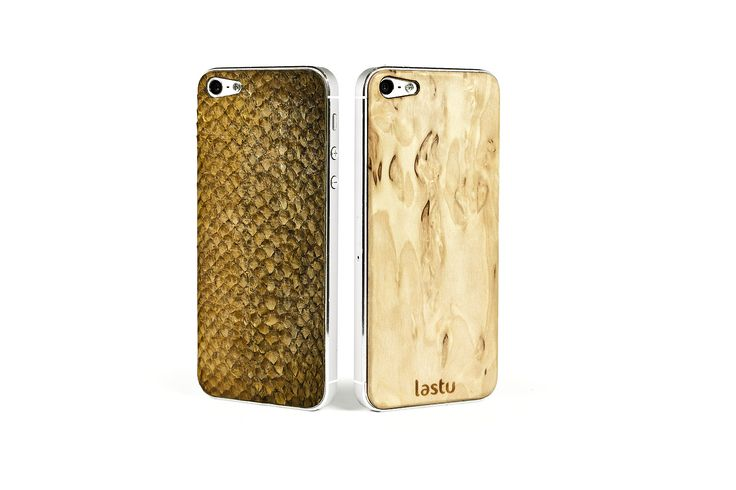 Real Fish Skin and Curly Birch #covers #Case #Cases for #iPhone | Lastucase | Made In #Finland  http://lastucase.com/product/special-skins/