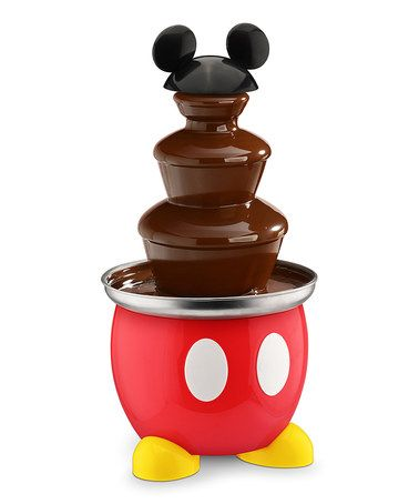 This Mickey Mouse Classic Chocolate Fountain is perfect! #zulilyfinds