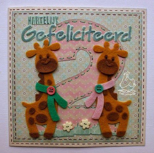 hensmade: Nieuw: Eline's giraffe!