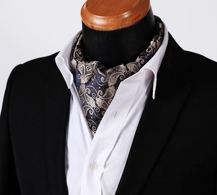 Run your Elegance 365 days a year! Elegance is a mindset Ascot Tie - Edgar - Runit365 your Elegant Men Store  #silk #menfashion #runit365 #classy #menstyle