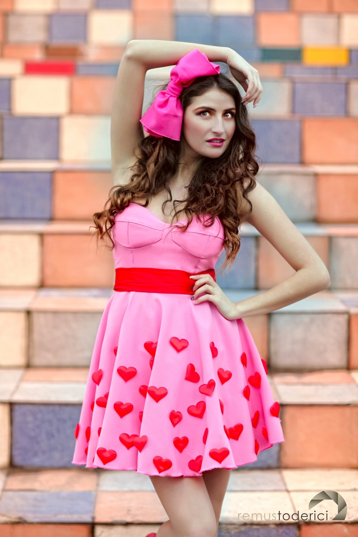 valentines dress and photo shoot
