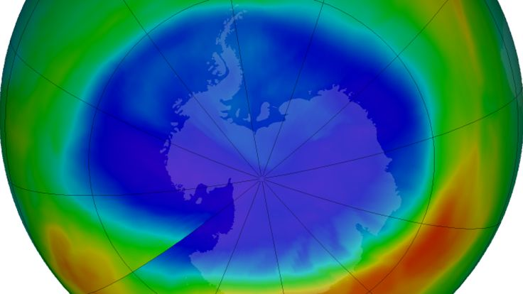Antarctic ozone hole is the smallest it's been since 1988