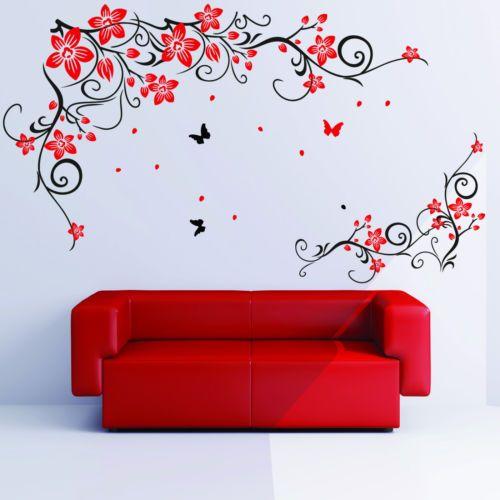 M s de 25 ideas incre bles sobre papel de pared de - Mariposas para pared ...
