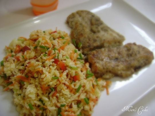 Arroz Frio, Cold Rice (ENG)