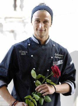 Lo Chef Sabatino Lattanzi, dell'Hotel  e Ristorante Zunica 1880 (Civitella di Tronto, TE) http://www.informacibo.it/_sito/cucina-nel-mondo/maccheroncini-alla-chitarra-con-ragu-sabatino-lattanzi/