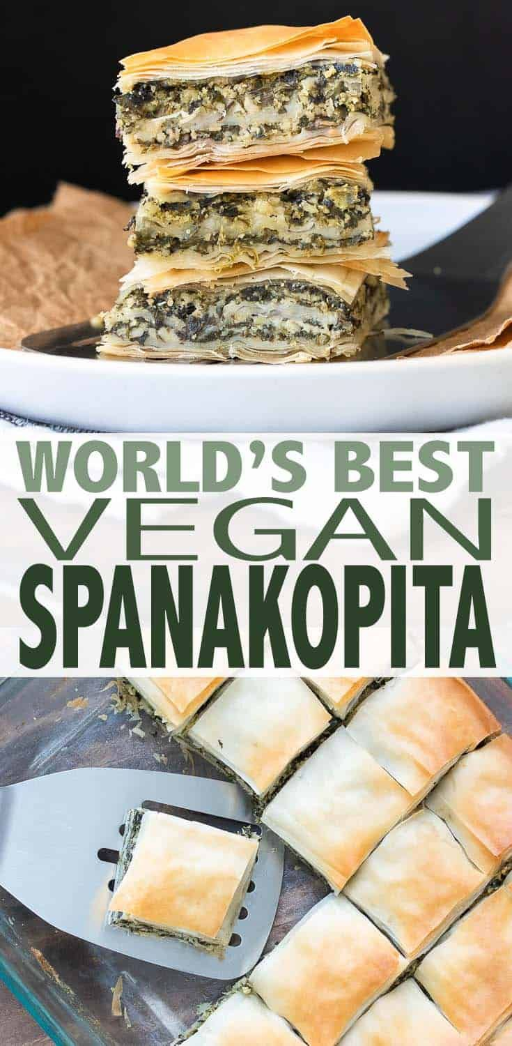 World's Best Greek Vegan Spanakopita