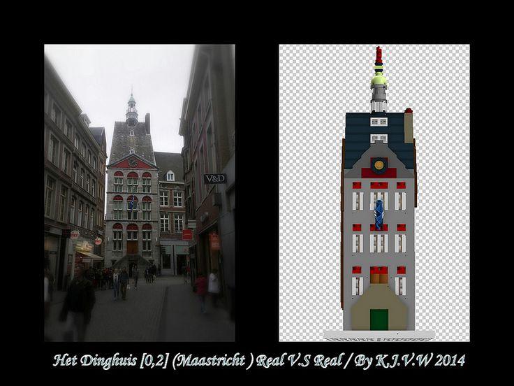 Het Dinghuis (Maastricht) Lego V.S Real