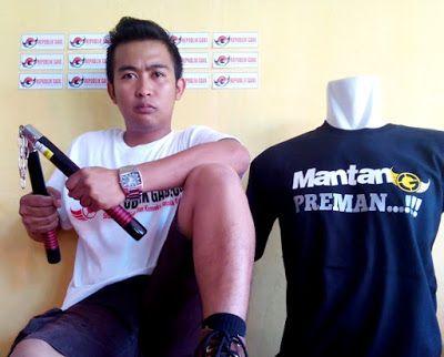 Kaos Cowok - Mantan Preman