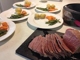 three sweet peas: Corned Beef Dinner in the Varoma