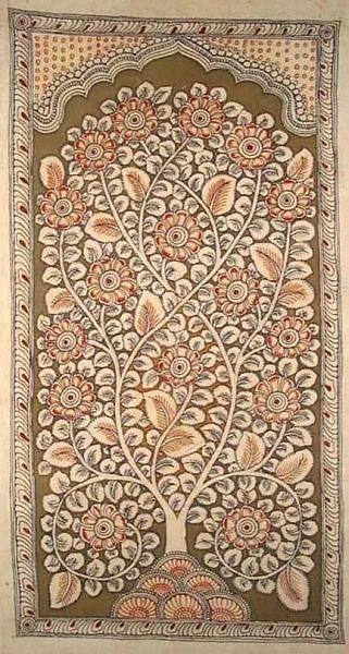 Indian Painting Styles...Kalamkari Paintings (Andhra Pradesh)-tree-of6.jpg