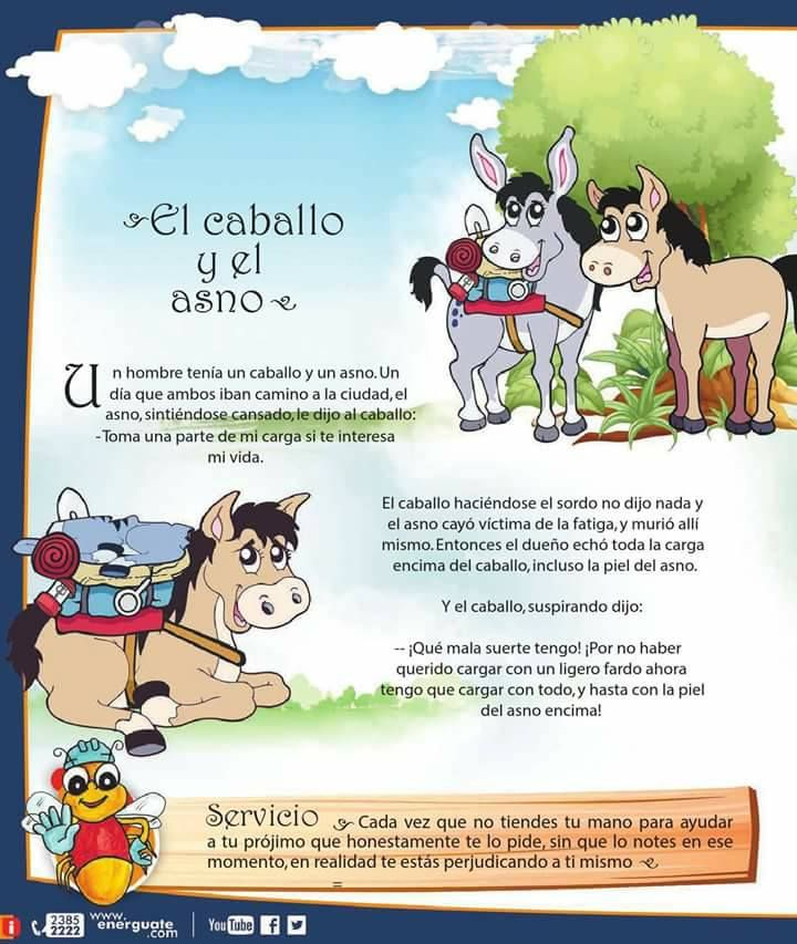 El caballo y el asno SERVICIO