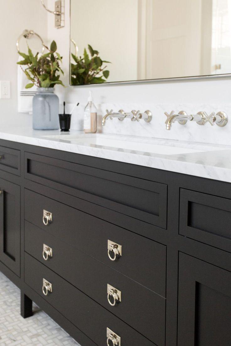 Bathroom Bathroom Vanity Designs Black Bathroom Black Vanity