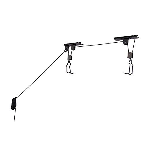 RAD Cycle Products Heavy Duty Bike Lift Hoist For Garage Storage 100lb Capacity Mountain Bicycle Hoist - http://mountain-bike-review.net/products-recommended-accessories/rad-cycle-products-heavy-duty-bike-lift-hoist-for-garage-storage-100lb-capacity-mountain-bicycle-hoist-2/ #mountainbike #mountain biking