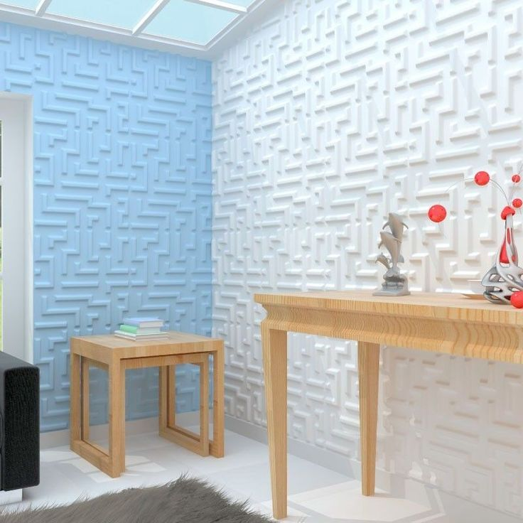 Maze 3D Board Wall Cladding Tiles Interior Decorative Tile Panels - 1m² | eBay