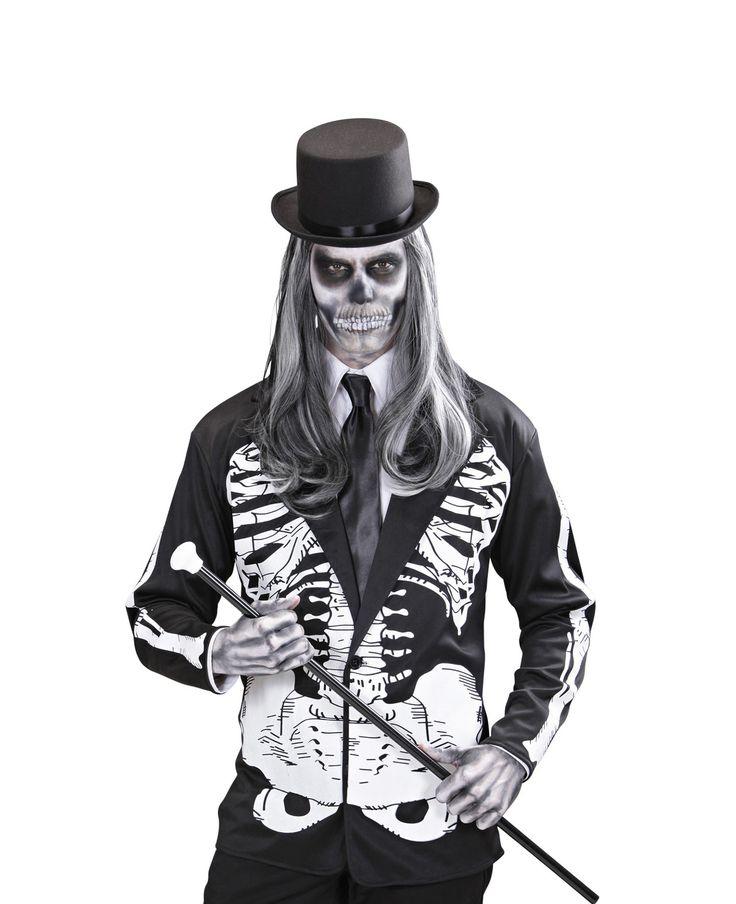Giacca da scheletro adulto e moltissimi altri accessori Halloween a partire da 0.69€! Non restare senza accessori per Halloween, approfitta della nostra ascia insanguinata o del nostro coltello da assassino, accessori per diavolo, accessori per zombie e l