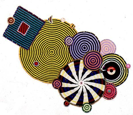 xenobia bailey | Xenobia Bailey, Great Day in the Morning , Hand crocheted Mandala,