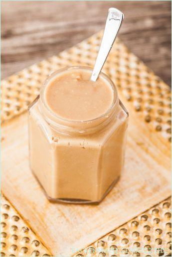 Nusscremes sind lecker, gesund, aber auch teuer. Warum also nicht Mandelmus und Erdnussbutter selbermachen? Einfaches Rezept mit vielen Varianten. (Vegan Dip Dessert)