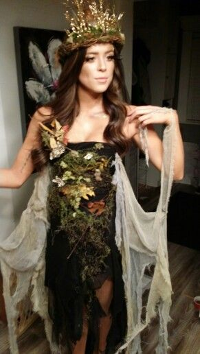 Mother nature costume