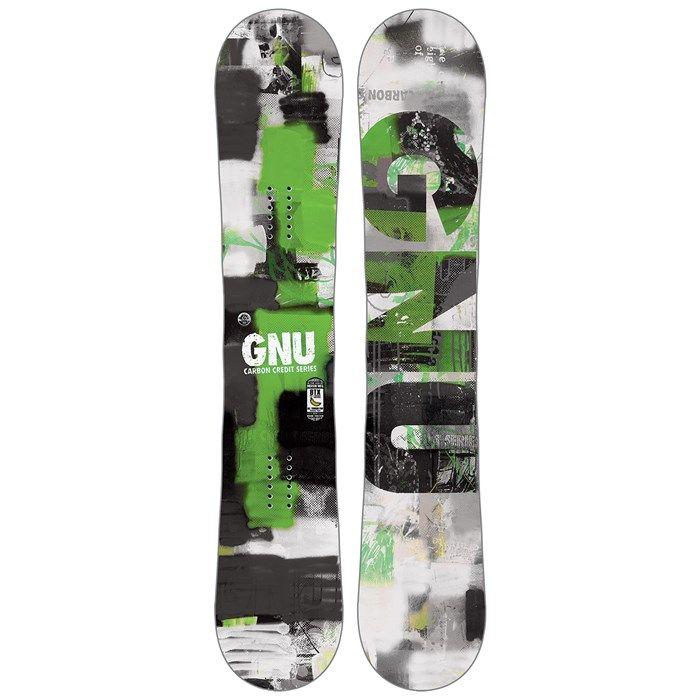 GNU Carbon Credit BTX Snowboard 2016