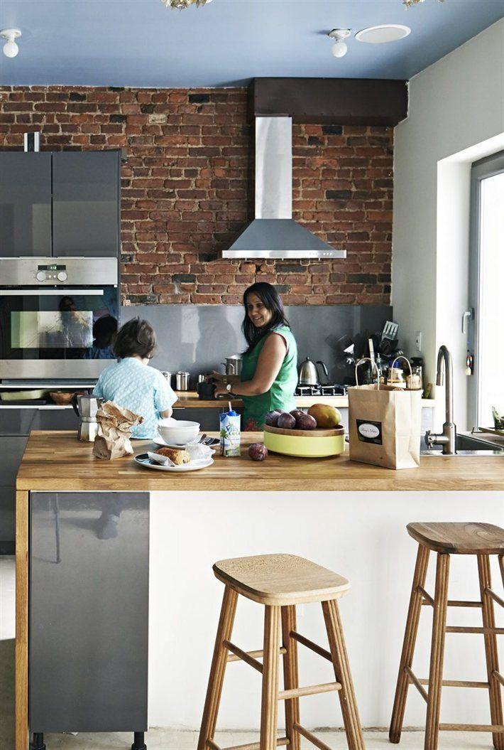 Oltre 25 fantastiche idee su bancone bar per cucina su pinterest cucina penisola bar per la - Bancone cucina legno ...