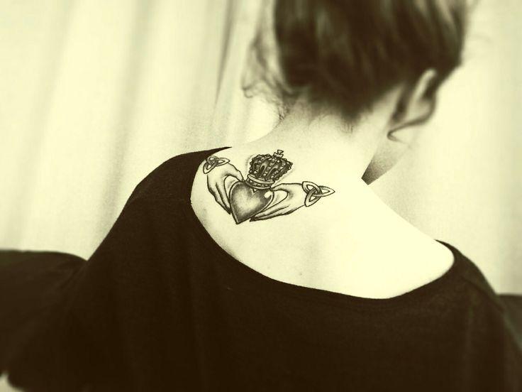 54 best irish tattoos images on pinterest ireland irish for Claddagh ring tattoo