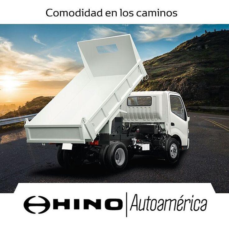 Nuestro #HinoDutro Express es un vehículo en el que puedes cargar hasta 4 toneladas con toda la comodidad para el camino, cuenta con una cabina confortable, palanca de cambios abatibles y cojinería ergonómica. Ven para asesorarte en #Autoamérica #Hino Caribe https://goo.gl/aXDgrQ    #ToyotaEsToyota #Autoamérica #ToyotaColombia #Toyotero #Toyotalover #OffRoad