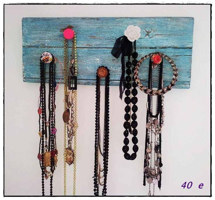5 hooks necklaceholder (40 e)