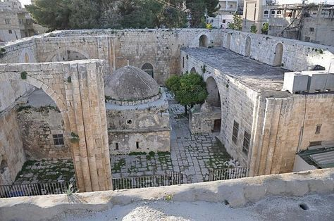 The fortress where John the Baptist was imprisoned and later beheaded by Herod Antipas