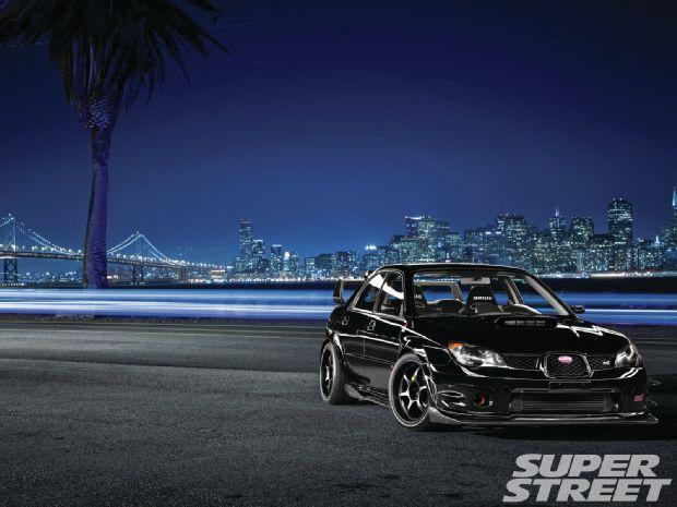 2007 Subaru WRX Sti Front