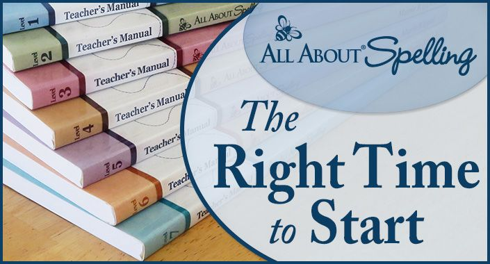 When is the Right Time to Start All About Spelling? #homeschool #spelling
