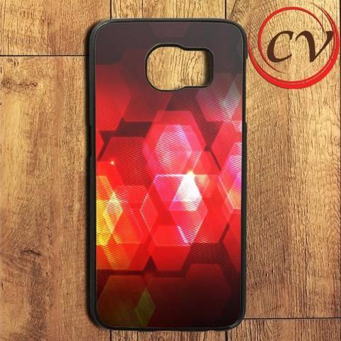 Abstract Hexagonal Samsung Galaxy S6 Edge Plus Case