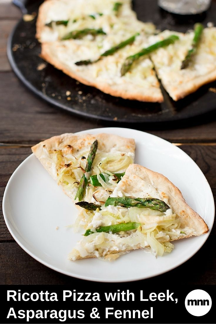 pie grilled asparagus and ricotta pizza kitchen joy green asparagus ...