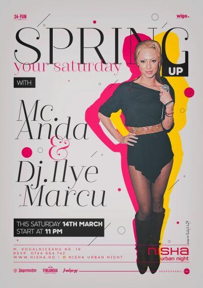 Spring up your Saturday @ Nisha Urban Night Party