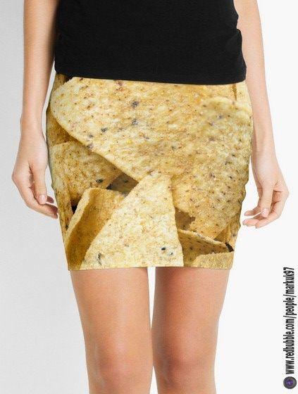 Nachos Overhead Mini Skirts https://www.redbubble.com/people/markuk97/works/25727205-nachos-overhead?asc=t&p=pencil-skirt via @redbubble