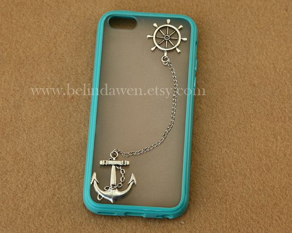 Anchor and rudder iphone 5c case,  Samsung Galaxy S2 S3 S4  note 2 note 3 case, iphone 4 4s 5 5s 5c case on Etsy, $8.99