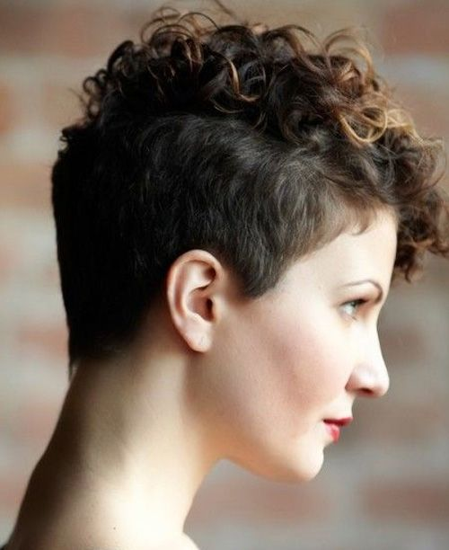 Pixie Hairstyles 2017 for Short Curly Hair