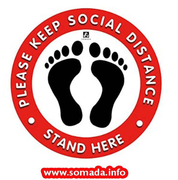 Pin On Social Distancing Stickers Amazon