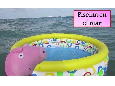 PEPPA PIG CON SU FAMILIA MAMA PIG PAPA PIG HERMANO GEORGE ABUELO Y AMIGOS - COLECCIÓN DE VÍDEO - YouTube