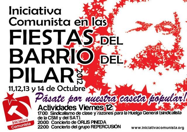 Caseta popular en las Fiestas del Barrio del Pilar, los días 11,12,13 y 14 de Octubre :: lahaine.org