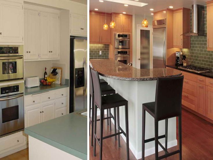 Before And After Kitchen Remodels Decor Impressive Inspiration
