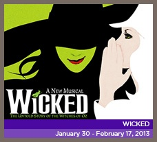 A must see for me! Playing at Broward Center for the Performing Arts - January 30 - February 17, 2013