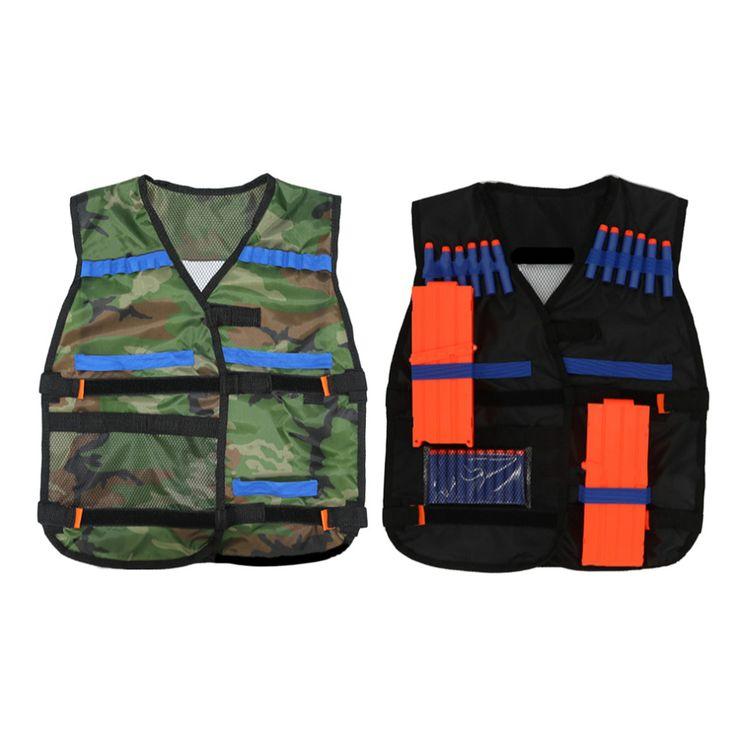 54*47cm New Outdoor Tactical Adjustable Vest Kit For Nerf N-strike Elite Games Hunting vest Promotion