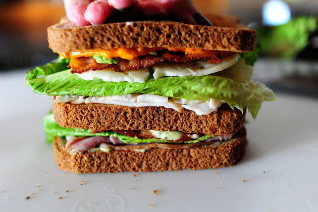 Killer Club Sandwich | Recipe | Sandwiches, The Pioneer Woman and Ree ...