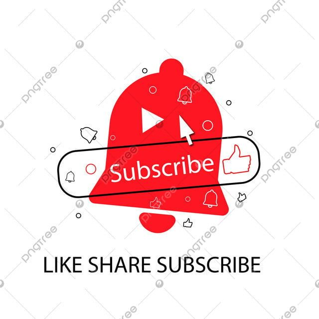 Youtube Subscribe Button With Bell Like Youtube Subscribe Subscribe Button Png And Vector With Transparent Background For Free Download Youtube Logo Youtube Banner Template Youtube Banners