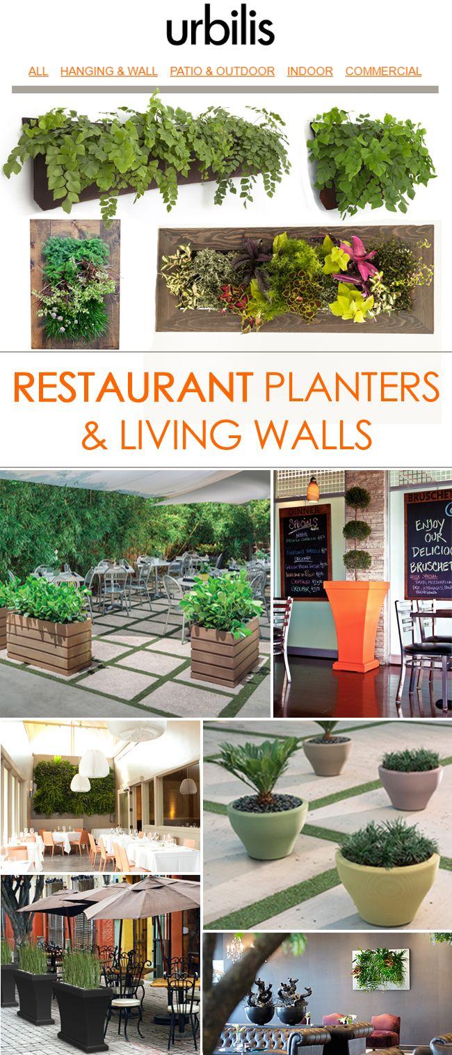 42 best restaurant planters u0026 living walls images on pinterest