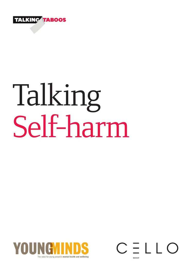 self harm research report Social context in which self-harm takes place this report is intended as a source of treatment professionals who work with people who self-harm and research.